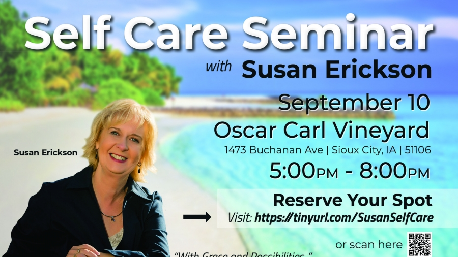 Self Care Seminar Flyer