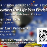 Creating the Life You Envision – Seminar